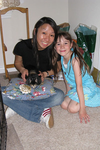 Helen Tong w/ Rachel and Snuggles
