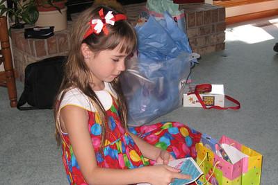 Celebrating Rachel's 8th Birthday in Fort Collins