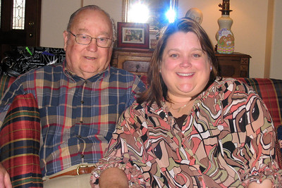 Easter Dinner 2009 in CO - Grady and Kathy
