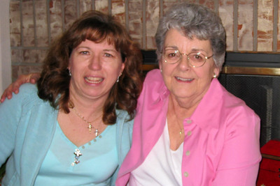 Easter Dinner 2009 in CO - Tracy and Mary Clare