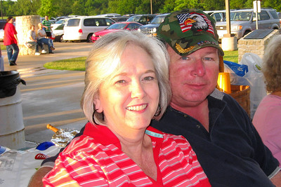 Memorial Day Fireworks at Sunnyvale Town Center Park - Kay and Jim Wade
