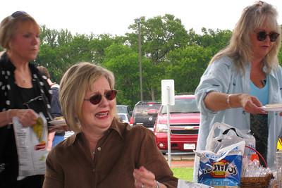 Memorial Day Fireworks at Sunnyvale Town Center Park - Debbie Geis, Cheryl Giacomazzi, and Deborah Franklin