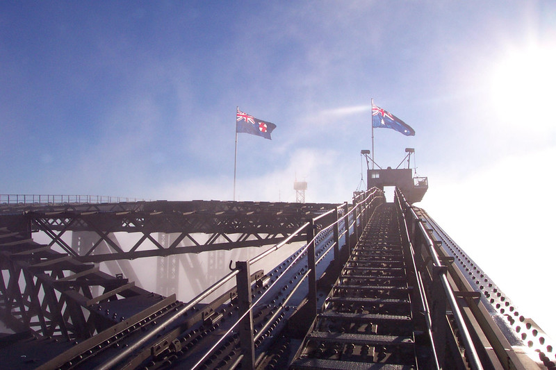 Sydney Harbour Bridge. Photo courtesy of BridgeClimb