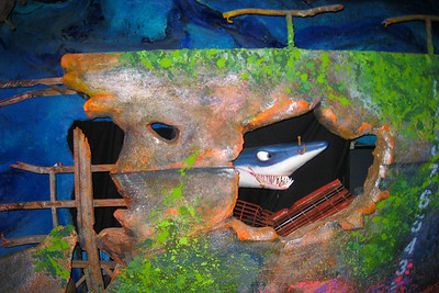 The Seas with Nemo & Friends attraction tells the story of Nemo wandering off again and his teacher, Mr. Ray, needs help finding him. There's a bit of suspense involved - including moments of darkness and a jellyfish encounter - but rest assured, it all ends happily. Thu - 5/28/09