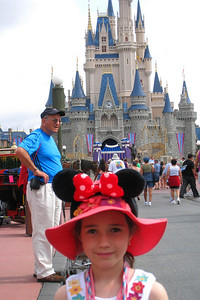 The Magic Kingdom has seven lands - Main Street, USA; Adventureland; Frontierland; Liberty Square; Fantasyland; Mickey's Toontown Fair; and Tomorrowland. The Cinderella Castle with soaring spires is in the Central Plaza. Fri – 05/29/09