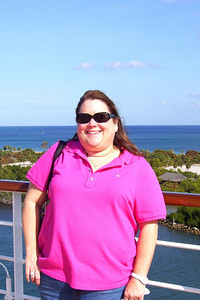 Eastern Caribbean Cruise – Eurodam on Holland America Line Day 1 – Sat, 1/08 – Sail Away After lunch, Kathy and Mary Clare enjoyed some of the sunshine before the mandatory lifeboat drill.