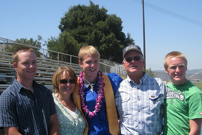 Grady Roth's Graduation - King City High School - Family