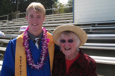 Grady Roth's Graduation - King City High School - Grandma