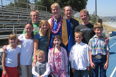 Grady Roth's Graduation - King City High School - Cousins