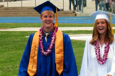 Grady Roth's Graduation - King City High School - Walking in