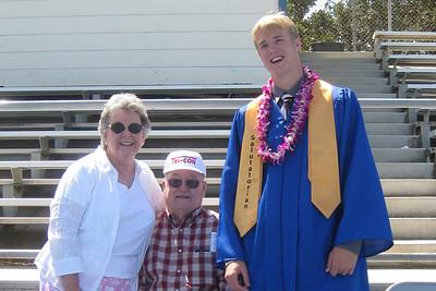 Grady Roth's Graduation - King City High School - Grandparents