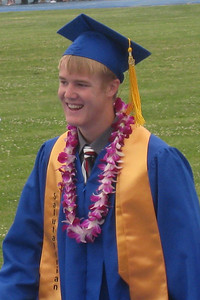 Grady Roth's Graduation - King City High School - Walking in