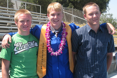 Grady Roth's Graduation - King City High School - Brothers
