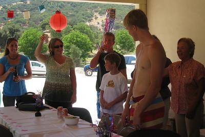 Grady Roth's Graduation Party - Sami Jo and Greg's House