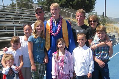 Grady Roth's Graduation - King City High School - Cousins