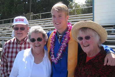Grady Roth's Graduation - King City High School - Grandparents