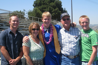 Grady Roth's Graduation - King City High School - Family