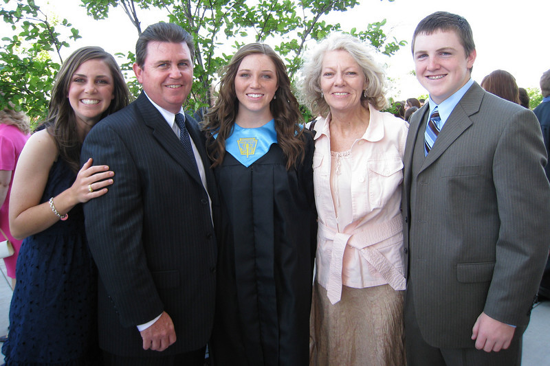 Jeni Muessig Bishop Lynch High School Graduation - Family