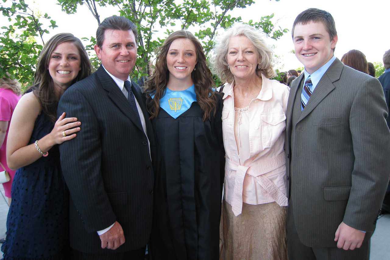Jeni Muessig Bishop Lynch High School Graduation - Family