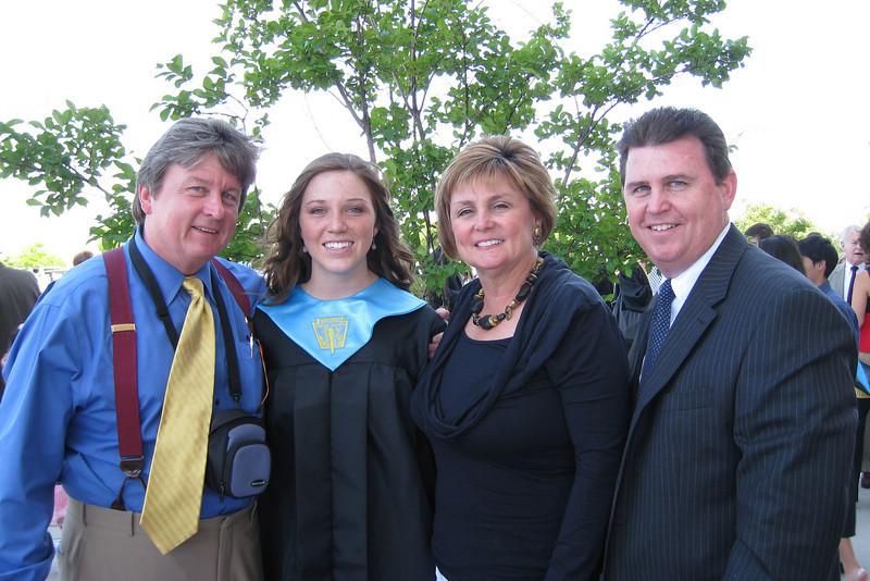 Jeni Muessig Bishop Lynch High School Graduation
