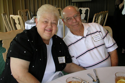 June White 80th Birthday Party Frank and Lucy King