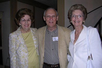 June White 80th Birthday Party June with John and Peggy Leeman
