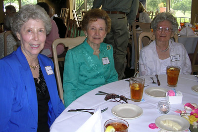 June White 80th Birthday Party Liz Harris, Ruth King, Alice Sebastian