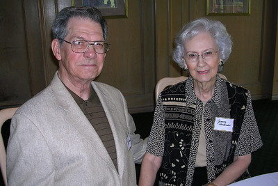 June White 80th Birthday Party Arthur and Jeanne Henderson