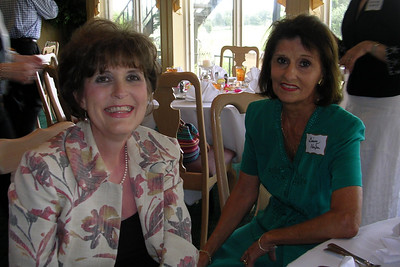 June White 80th Birthday Party Becky Matthews and Ginny Harper