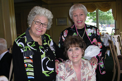 June White 80th Birthday Party Corky Simpson, Becky Matthews, Jean Muncy