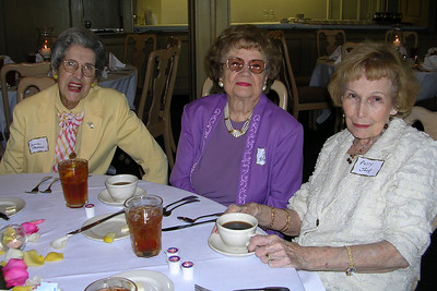 June White 80th Birthday Party Connie Newman, Jane Holford, and Polly Jack