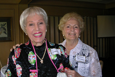 June White 80th Birthday Party Jean Muncy and Joann Carnes