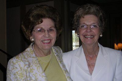 June White 80th Birthday Party June with Peggy Leeman