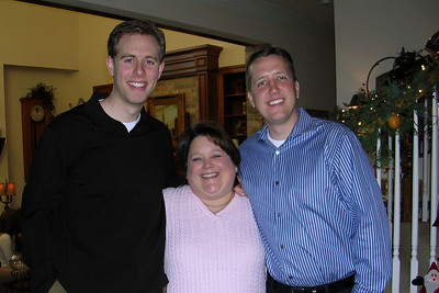 Laura Gee and Jason Matthews Wedding Shower - Kathy and her boys