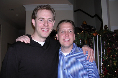 Laura Gee and Jason Matthews Wedding Shower - Friends Chris and Jason