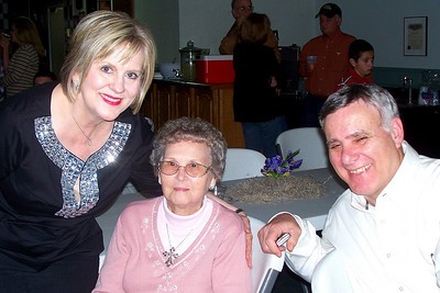 Let the Good Times Roll – 10/24/2009 - Celebrating October and November Birthdays - Cheryl and Shorty Giacomazzi with Cheryl Kane's mother