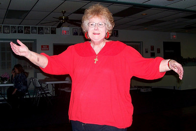Let the Good Times Roll – 10/24/2009 - Celebrating October and November Birthdays - Myra dancing!