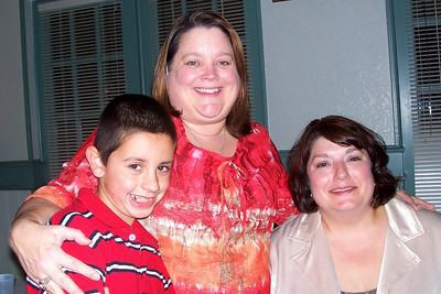 Let the Good Times Roll – 10/24/2009 - Celebrating October and November Birthdays - Cole, Kathy, and Kelly - picture taken by Kasen Kane