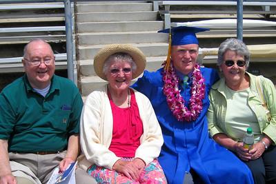 Proud Grandparents - Grady Kane, Lila Roth, Nathan, Mary Clare Kane