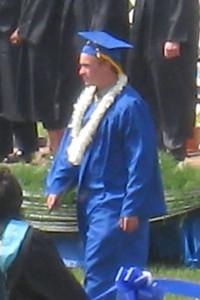 Rory Johnsen - Graduating from King City High School