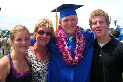 Sydney, Paula, Nathan, and Simon (cousins and aunt)
