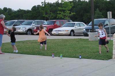 Rachel at Sunnyfest w/ Jim Wade's Grandchildren