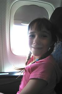 Rachel headed to Denver - In First Class!