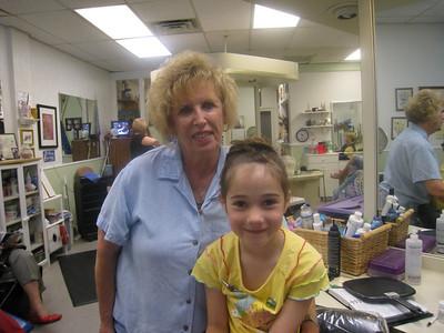 Rachel at the Beauty Shop