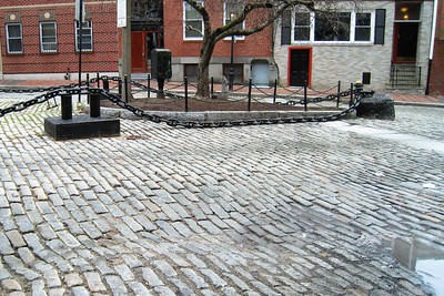 Day 2 – North End - Very old cobblestone street - and it is still in use!