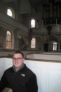 Day 2 – Old North Church - the oldest church building in Boston, dates to 1723.
