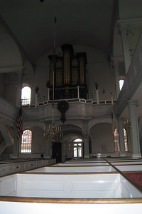 Day 2 – Old North Church - Pipe Organ