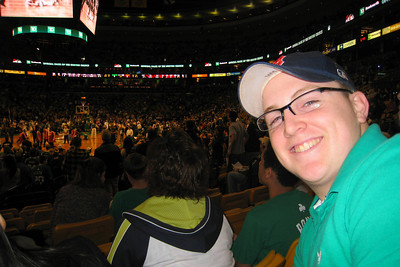 Will's Freshman Spring Break was delayed by one year. He selected Boston for our March 18th thru 22nd trip. Day 1 - Highlight for today was the Boston Celtics game! Our flight was delayed but we had plenty of time to get to the game after our T subway ride from the airport to the Holiday Inn Beacon Hill. We walked to the North End (Italian neighborhood), ate at The Daily Catch, and stopped at Mike's Pastry for take-out dessert. The Celtics won the game in overtime.