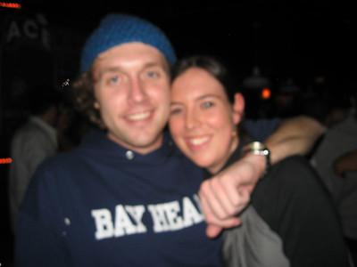 Very blurry pic of the nice (?) guy we met @ JJ's bday bash.