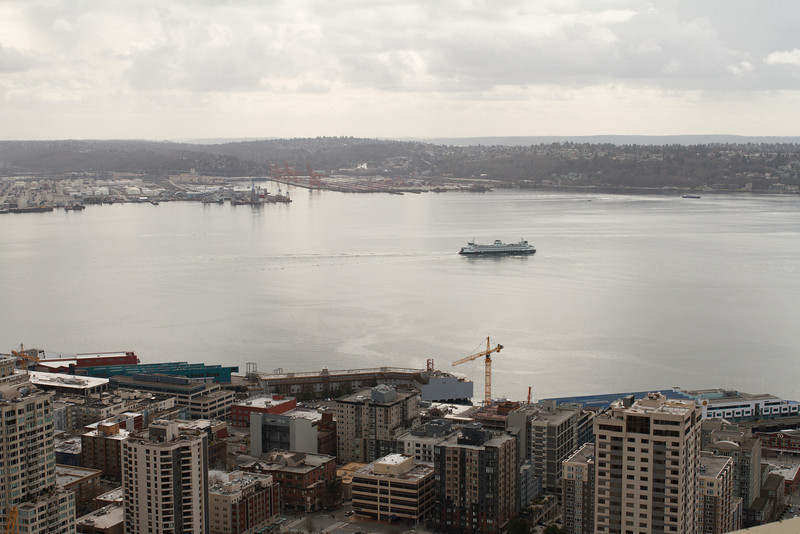 Elliot Bay from the Space Needle